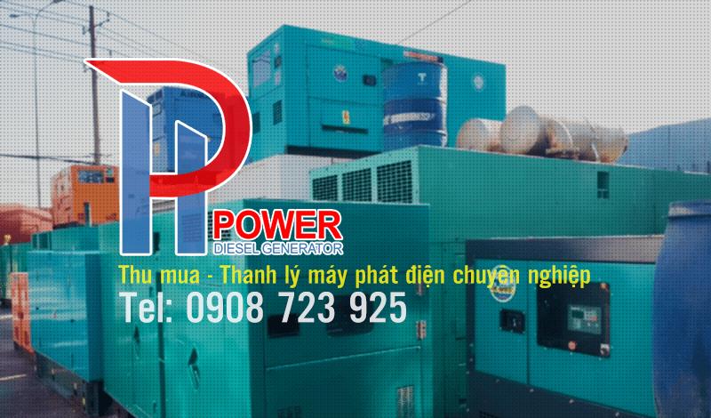 Thu mua, thanh lý máy phát điện công nghiệp đã qua sử dụng giá cao