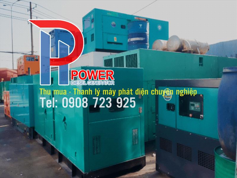 Thu mua máy phát điện công nghiệp đã qua sử dụng giá cao