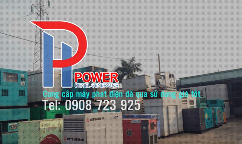 cung cấp máy phát điện đã qua sử dụng chất lượng cao, bảo hành dài hạn.
