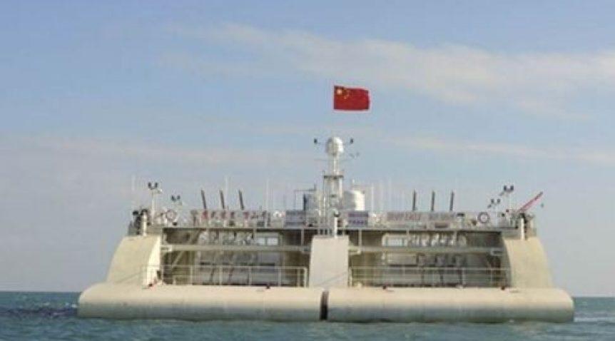 Nhà máy phát điện nổi khổng lồ ở Biển Đông của Trung Quốc